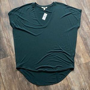 NWT Express One-Eleven Deep Green T-Shirt